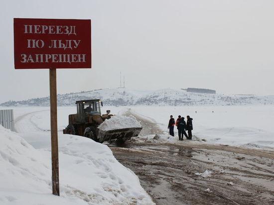 Хрупкий лед: в Кузбассе закрыли еще 12 переправ через реки
