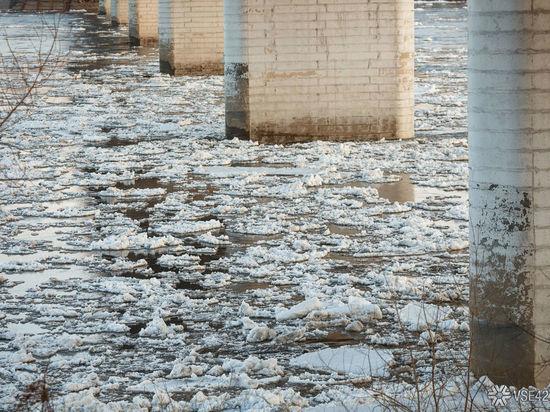 Наюге Кемеровской области начали взрывать Томь