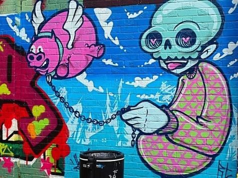 ВНовокузнецке планируют облагать штрафом граффитистов заплохие рисунки