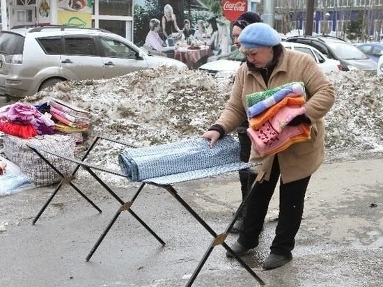 Продавцы-нарушители: в Кемерове началась борьба с несанкционированной уличной торговлей