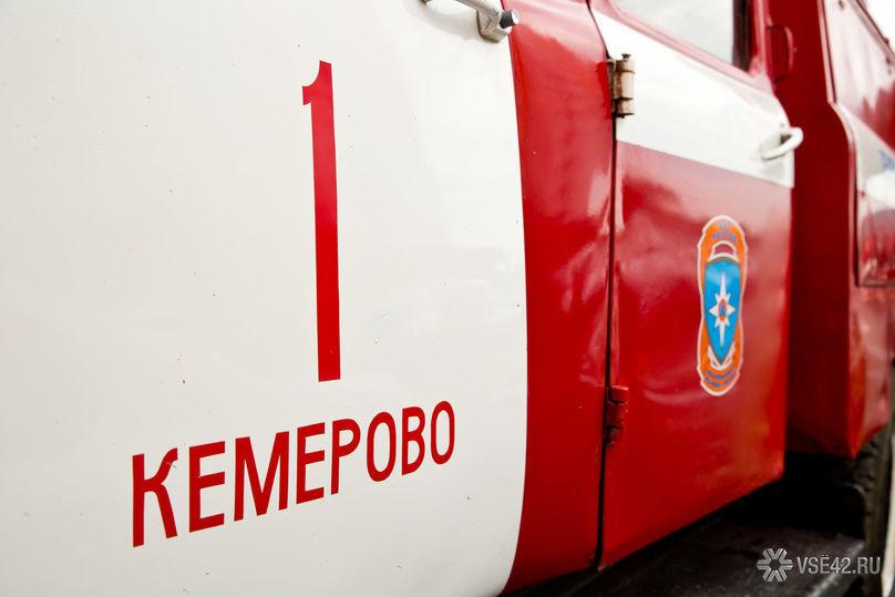 ВКемеровском районе зажегся автобус слюдьми