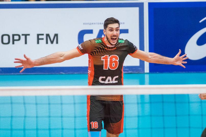 Волейбольный «Кузбасс» вышел вфинал Кубка РФ