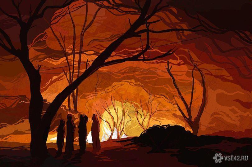 ВКузбассе пожарные спасли иззагоревшейся квартиры мужчину