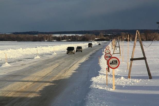 ВКузбассе открыли первые ледовые переправы