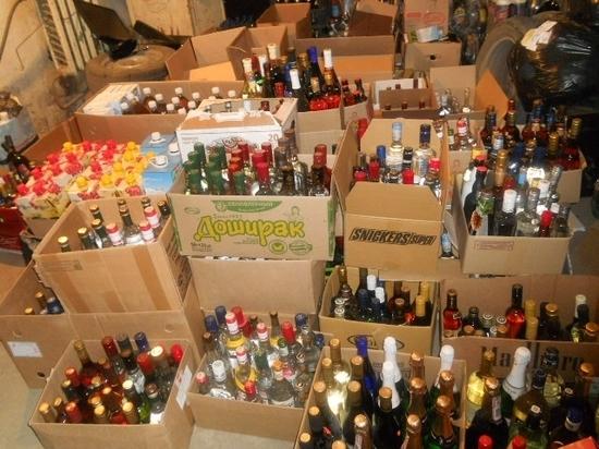 ВКемеровской области полицейские изъяли 22 тыс. литров поддельного алкоголя